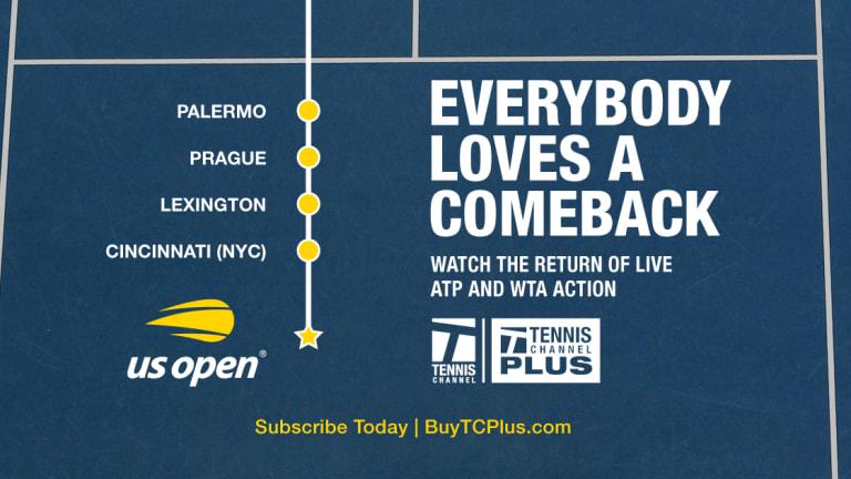 Halep defeats Mertens for Prague crown; US Open decision coming Monday