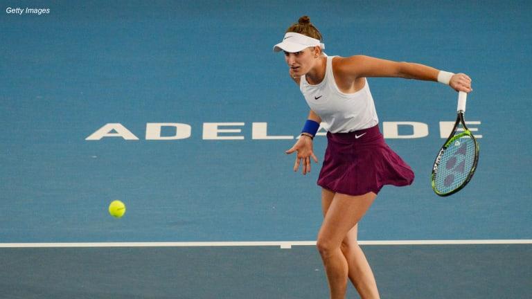 The 21 & Under Club  renews Vondrousova,  welcomes Kecmanovic
