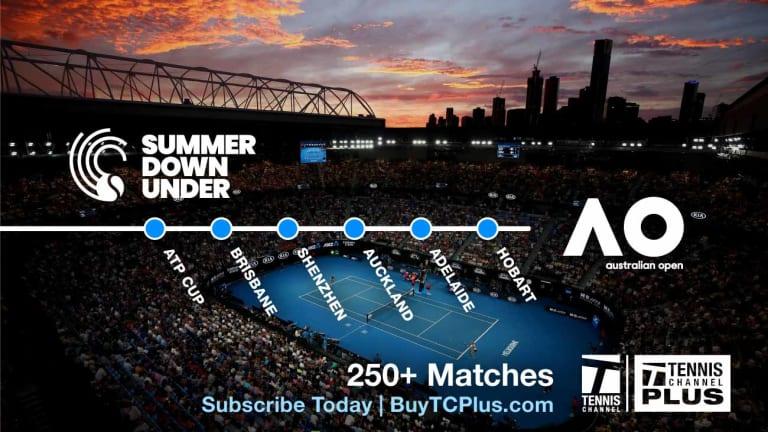 Match of the Day: Karolina Pliskova vs. Alison Riske, Brisbane