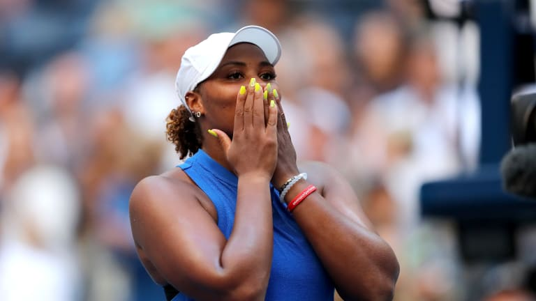 Top 5 Photos, US Open Day 4: Townsend & Gauff ride home crowd support