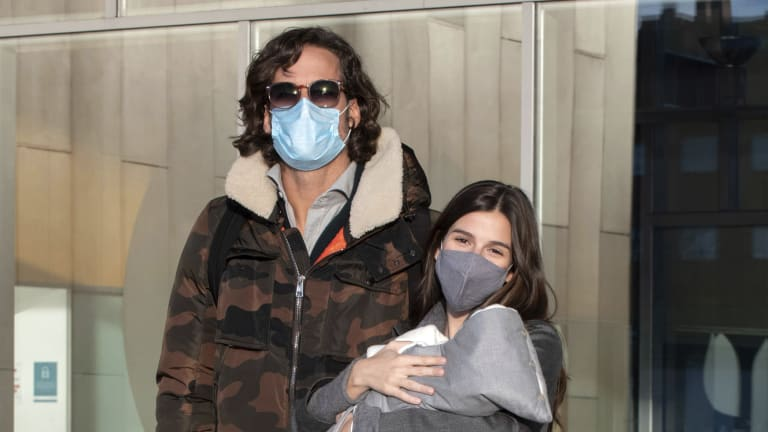 Lopez becomes  parent for the  first time