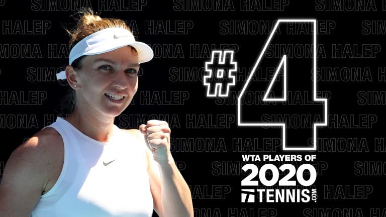 WTA Players of 2020, No. 4: Simona Halep