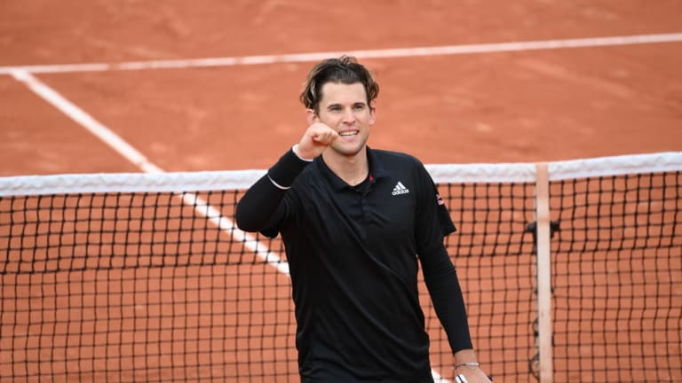 Focused on conserving energy, Thiem saves three set points to top Sock