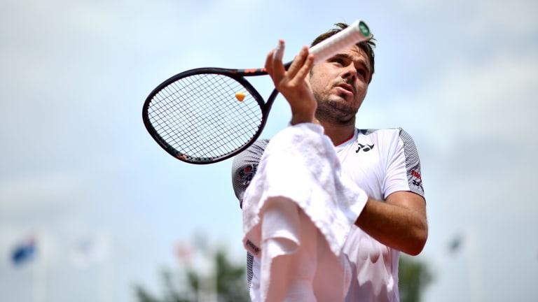 Stan Wawrinka wins third three-setter in a row at Prague Challenger