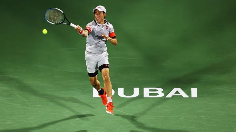 Top 5 Photos, 3/17:  Nishikori reaches  last eight in Dubai
