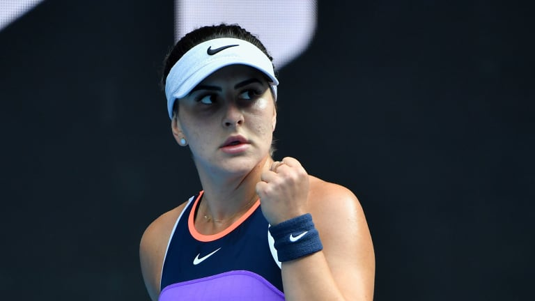Back after 467 days: the uncertain journey of Bianca Andreescu