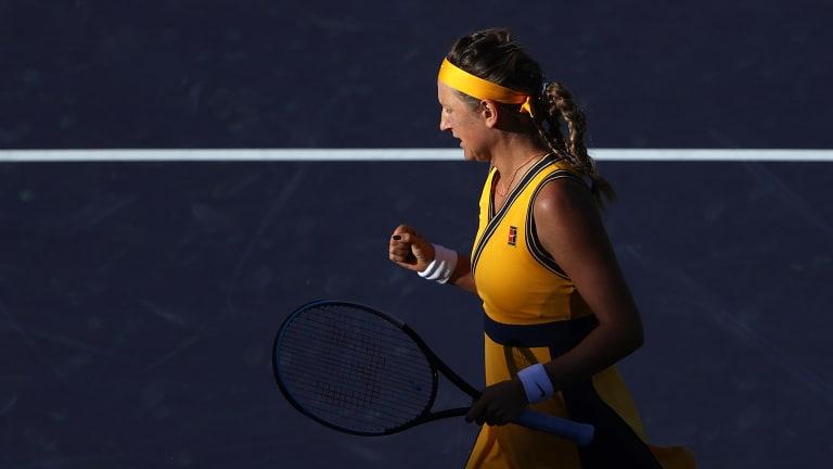 Azarenka overcame Ostapenko in their only previous encounter at Roland Garros in 2019.