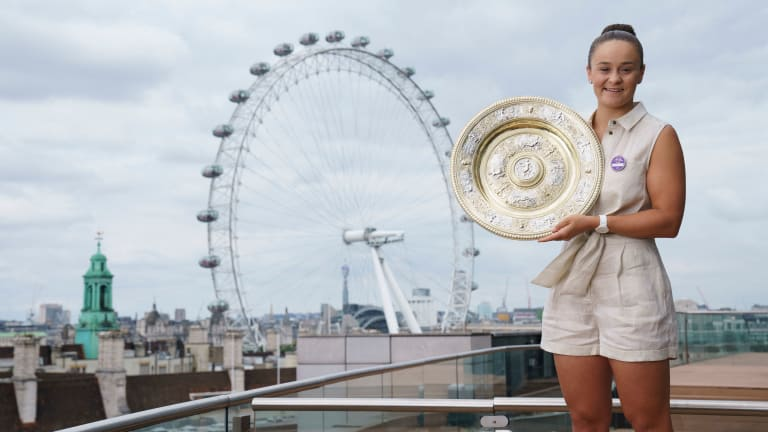 Barty has now passed Sam Stosur and Lleyton Hewitt to become the highest-earning Australian tennis player of all time.