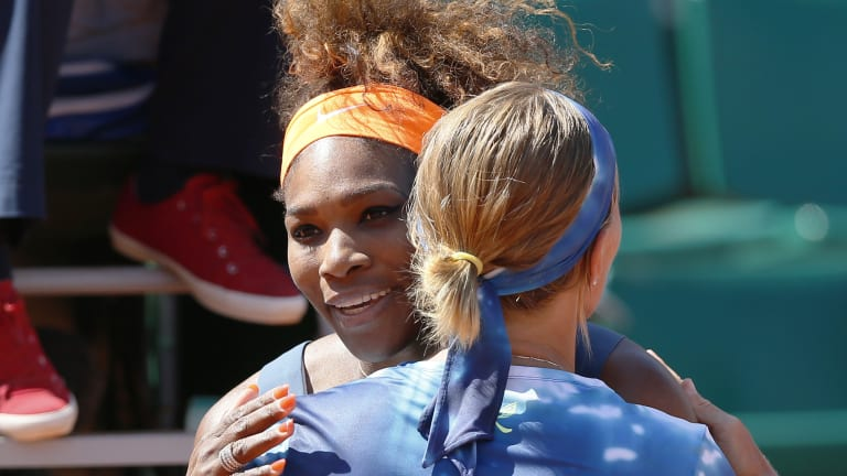 Serena avenged a 2009 Roland Garros defeat to Kuznetsova four years later in a classic quarterfinal.