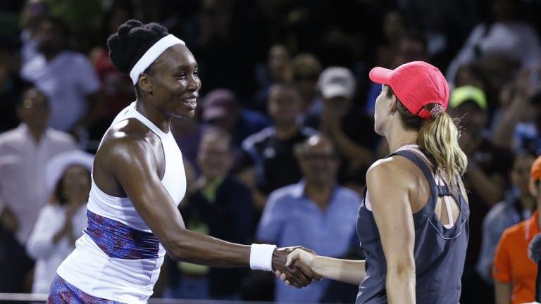 Collins rides hot streak past Venus Williams in Miami