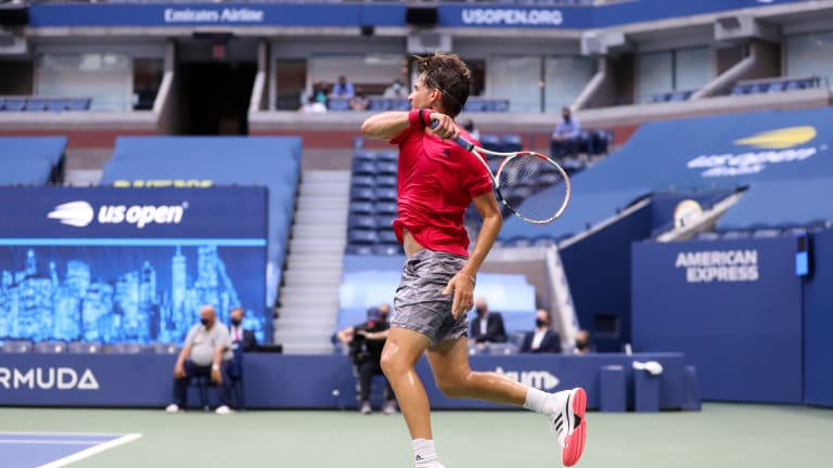In historic fashion, Thiem edges Zverev in 5 for first Slam at US Open