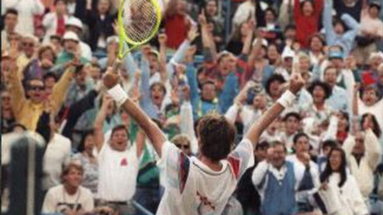 1991: Jimmy Connors' gripping U.S. Open run at age 39