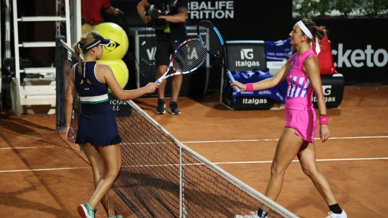 Victoria Azarenka storms past No. 5-ranked Kenin in Rome, 6-0, 6-0