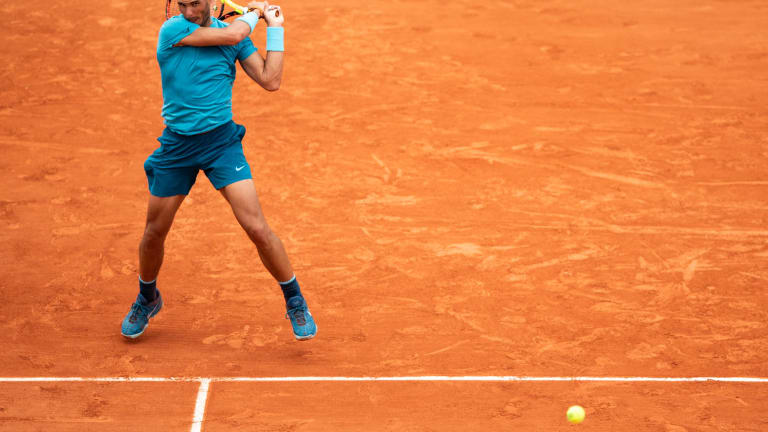 Summing up what makes Rafael Nadal the King of Clay in one game