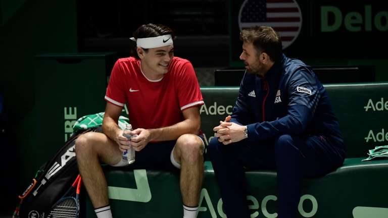 Fish has taken on the mantle of U.S. Davis Cup captain, mentoring a new generation of American men.