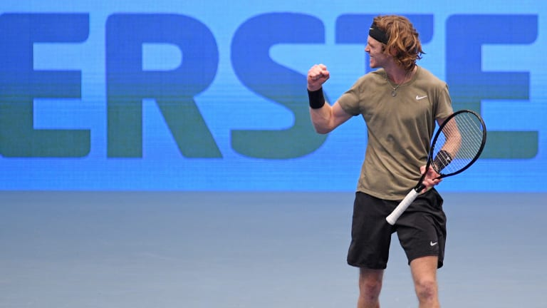 Who were the Top 5 match win leaders on the ATP and WTA Tours in 2020?