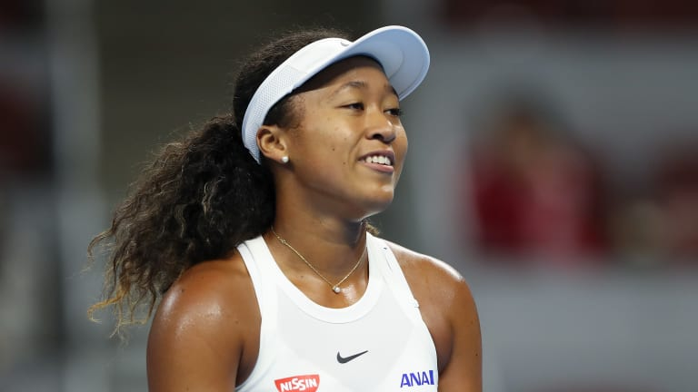 Osaka wins first installment of Battle of the Future over Andreescu