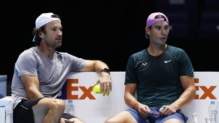 Moya has coached Nadal since 2016 (Getty Images).