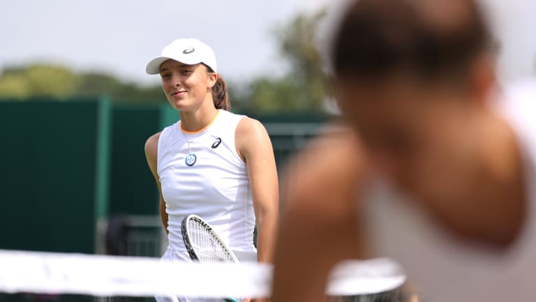 Swiatek was the only woman to reach the second week of all four Grand Slams this year.