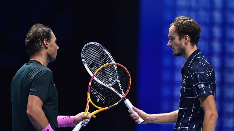 ATP Finals—Laver on Medvedev's power use, Nadal dumping trademark shot