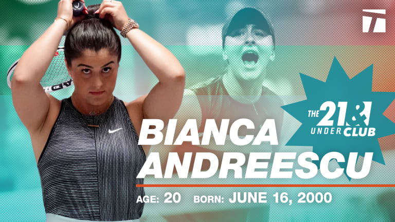 The 21 & Under Club, 2020 Edition: Bianca Andreescu