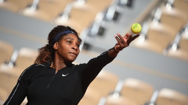Serena Williams: championship afterthought in Paris? That could change quickly with a dominant early-round showing.