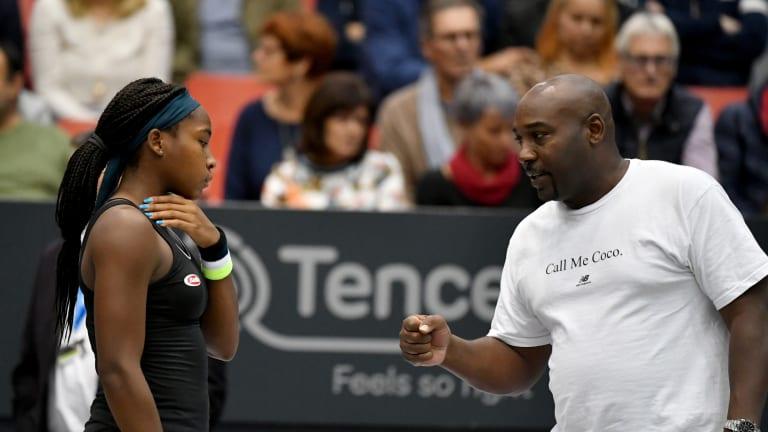 First Top 10 win; first WTA semifinal: Coco Gauff tops Bertens in Linz
