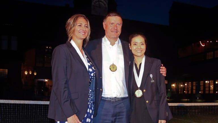 Enshrined: Li Na, Mary Pierce, Yevgeny Kafelnikov enter Hall of Fame