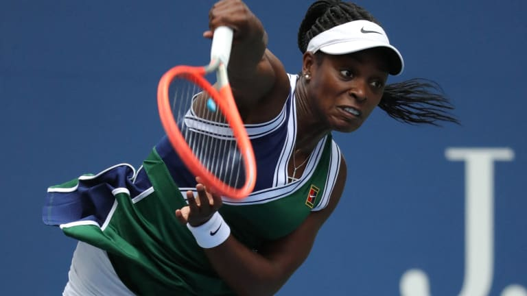 Stephens beat Keys and Gauff at the US Open before falling to Kerber in a tight three-setter.