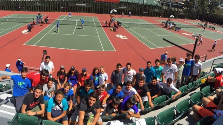 The Mark Weil Tennis Academy is like none other in the sport