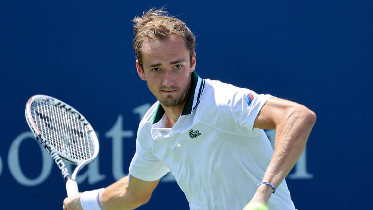In three of the last four hard-court majors, Medvedev has reached at least the semifinals.