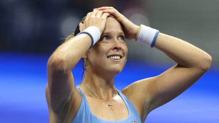 Rogers is a bit of a giant killer, having beat Serena Williams and Petra Kvitova last year. But she was still in disbelief after her rally from the brink against Barty.