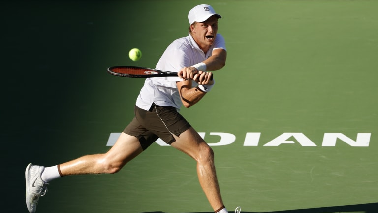 Brooksby followed up his US Open four-setter with Novak Djokovic with another strong performance in the California desert.