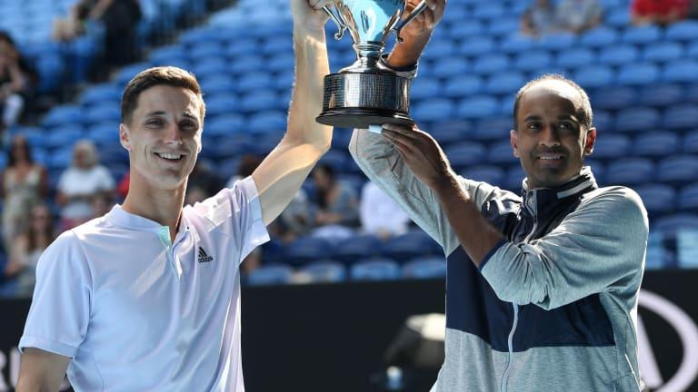 TENNIS.com Podcast: Rajeev Ram on achieving his Grand Slam dreams