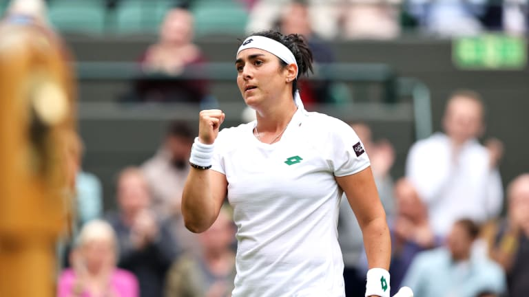 Jabeur was already the first Arab woman to reach the Top 50 on the WTA rankings in 2020.