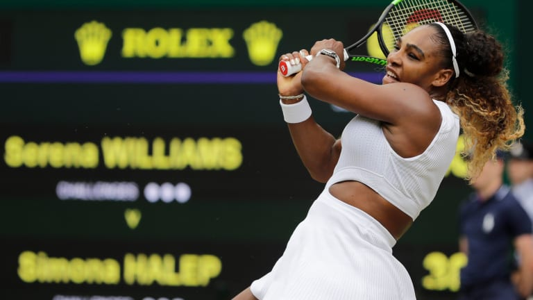 Serena Williams has Grand Slam singles title No. 24 on her mind; before that, though, she'll only be thinking about her first-round opponent, Aliaksandra Sasnovich.