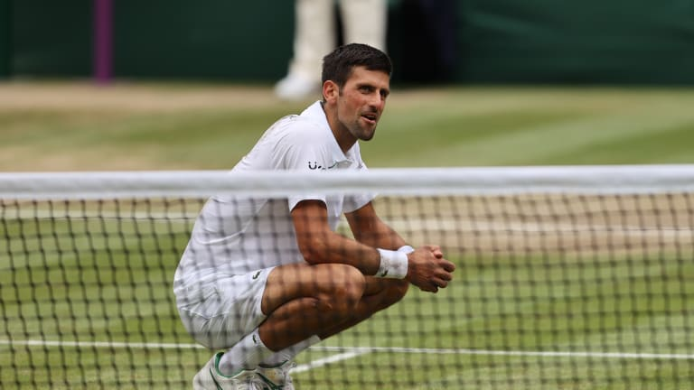 """""""I consider myself best and I believe that I am the best, otherwise I wouldn't be talking confidently about winning slams and making history,"""" Djokovic said in his post-final press conference."""
