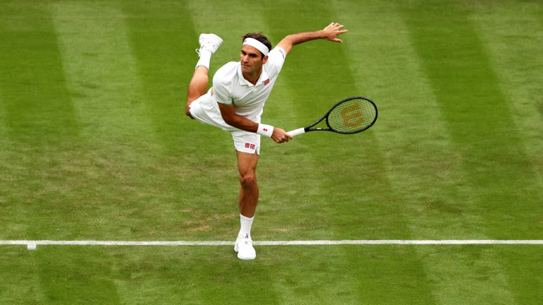 Federer holds an 18-2 record against Richard Gasquet, his second-round opponent.