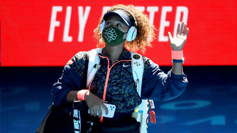 Serena Williams tears up, leaves press conference after loss to Osaka