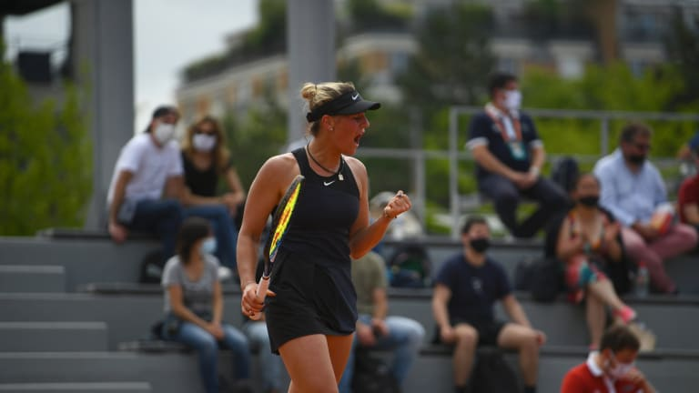 Kostyuk backed up a career-best win over Garbiñe Muguruza by reaching the third round at Roland Garros (FFT).