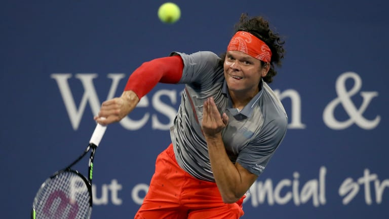 For Pete's sake, Raonic rallies from the brink