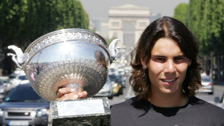 Rafa Rewind, 2006: A 60th straight win on clay nets second major title