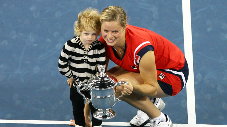 Clijsters inducted into US Open's  Court of Champions
