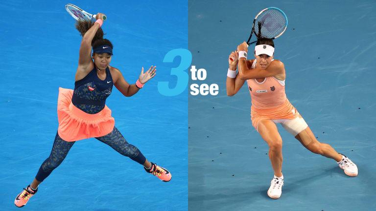 Three To See, Miami: Osaka-Tomljanovic, RBA-Harris, Anisimova-Stephens