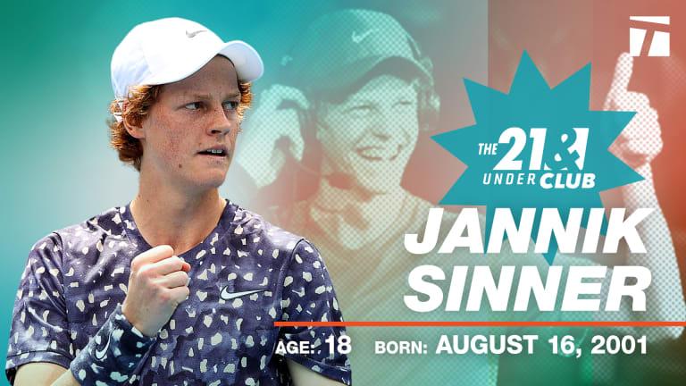 21 & Under Club: Hailing teen talents  Sinner and Swiatek