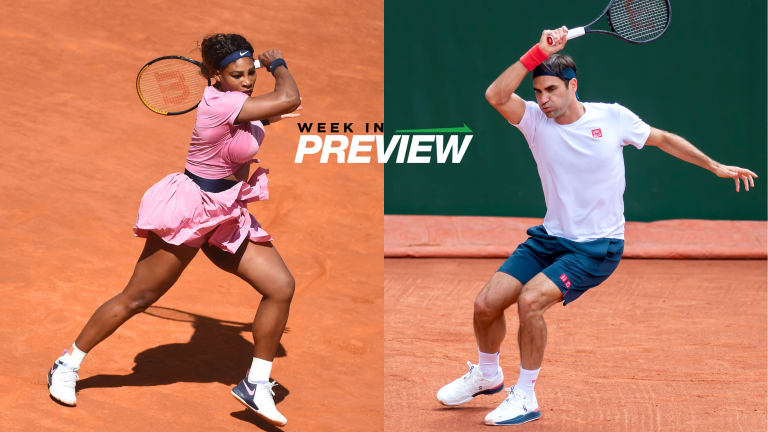 Week in Preview: Serena, Federer lead stars tuning up for French Open