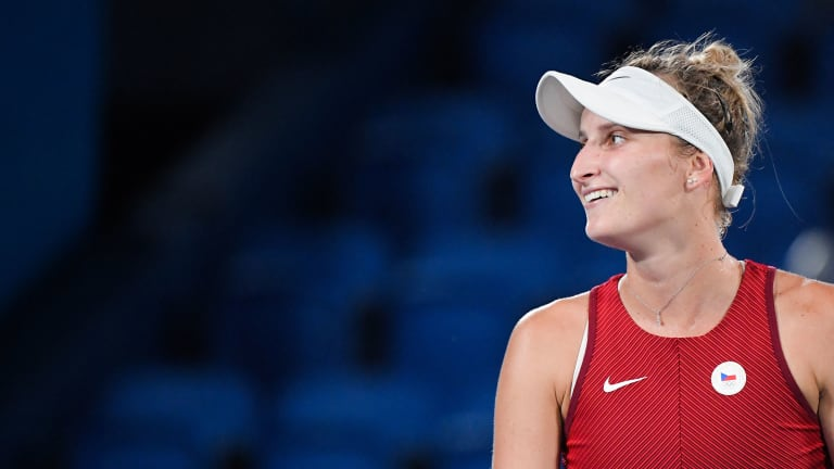 Vondrousova is in the midst of a career resurgence after upsetting Naomi Osaka en route to the 2020 Tokyo Olympics final.