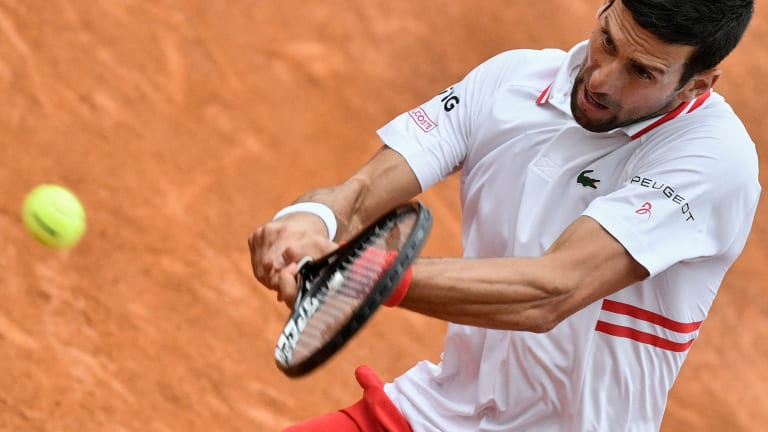 """I'm flawed as anybody else"": Djokovic stops by TC Desk"