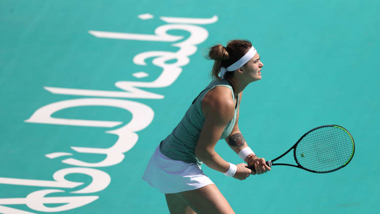 Ranking Reaction: Unstoppable Sabalenka up to new career-high of No. 7