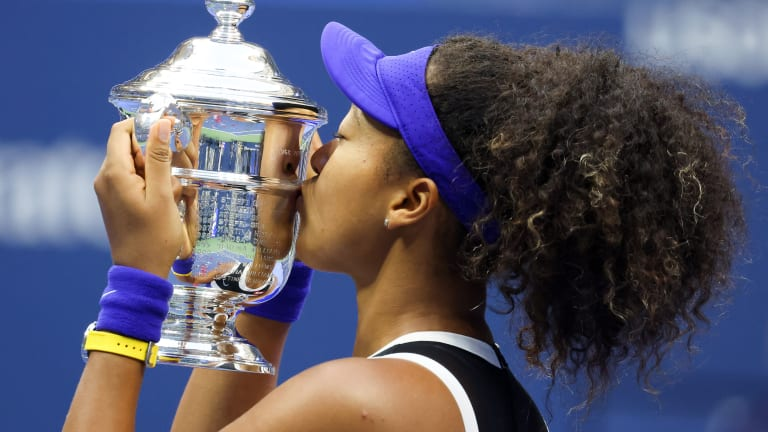 For a second US Open, Naomi Osaka shows she wins for more than herself